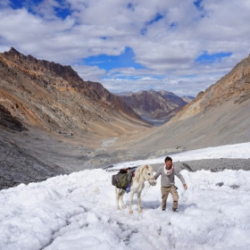 Himalaya, la marche au dessus